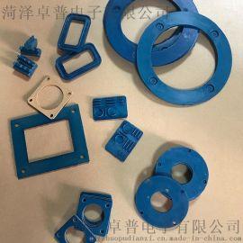 电磁**材料高导电硅橡胶条导电橡胶板可定做电磁**