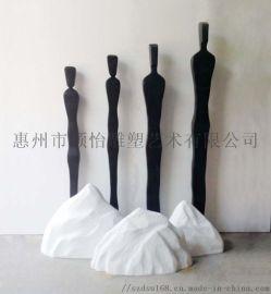 玻璃钢雕塑-室内雕塑