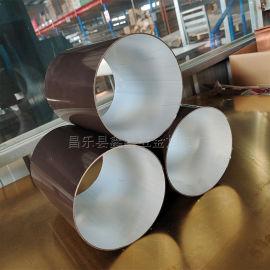 大口径雨水管生产厂家 铝合金雨水管可安装