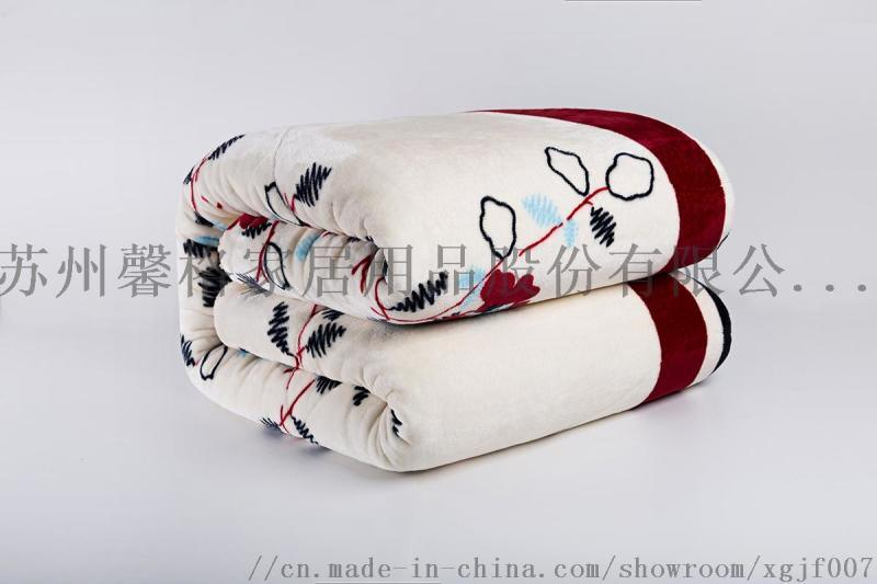追求毛毯款式來看看馨格家紡歐美法蘭絨款