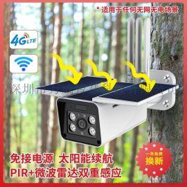 vanvin涂鸦云太阳能4G/WiFi电池摄像头