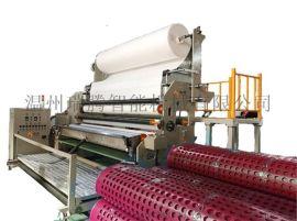 排水板无纺布涂胶复合无纺布生产线