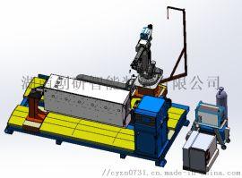 广州创研智能南方电网自动型充气柜机器人焊接系统