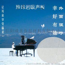 穿孔复合珍珠岩吸音板 杭州晶闪石600×600mm