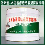 水泥基渗透结晶型防腐涂料、生产销售、涂膜坚韧