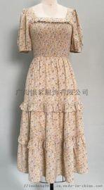 女士印花连衣裙