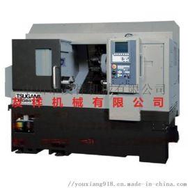 日本津上走心机 M08SY-II CNC刀塔车床