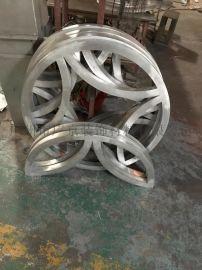 3mm厚雕花镂空铝单板/异形铝单板天花