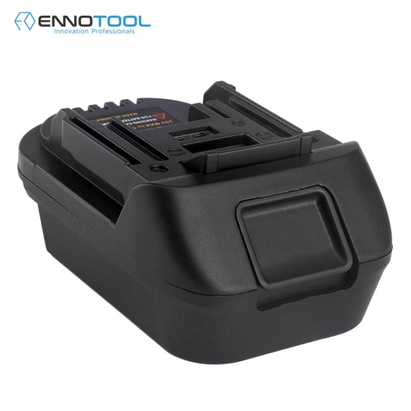 适用于牧田电动工具电池转换器适配器DM18M