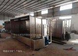 喷漆房高效喷漆水帘柜废气处理环保设备
