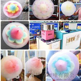 棉花糖机租赁 商用彩色棉花糖机现场制作花式棉花糖