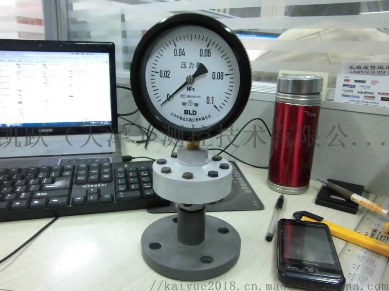 布莱迪,全塑,隔膜压力表