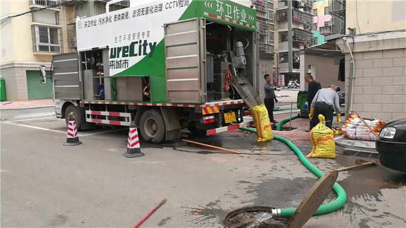 分离式吸污净化车 粪便现场无害化处理环保吸粪车