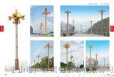 玉蘭景觀燈安裝方法,玉蘭燈工程案例