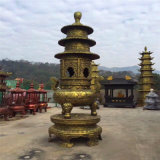 溫州鑄鐵寶鼎廠家,寺廟五層寶鼎,三層銅寶鼎定做廠家