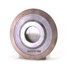订做14K1双刃金属结合剂PG光学曲线研磨砂轮