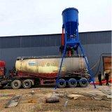 自吸式水泥粉煤灰装车卸船输送机风力式干粉吸料机