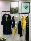 丝珂黄色短上衣潮流韩版女装货源折扣加盟店