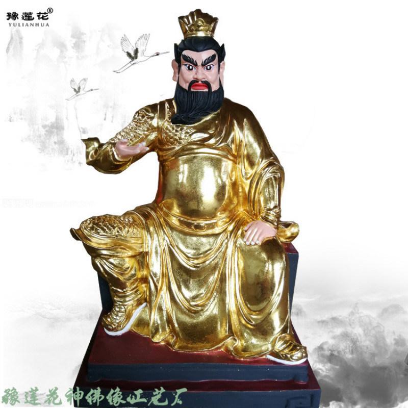 山神爷神像 山神奶奶佛像 山神菩萨神像 寺庙塑像
