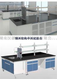 湖南实验室操作台中央实验操作台化学实验操作台