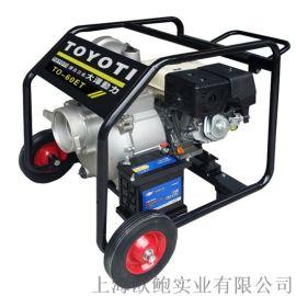 大泽动力4寸柴油水泵动力足