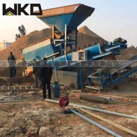 湖南螺旋洗砂机厂家 石粉洗石机生产线 小型洗砂机