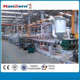 PP中空格子板生产线,聚丙烯中空板设备