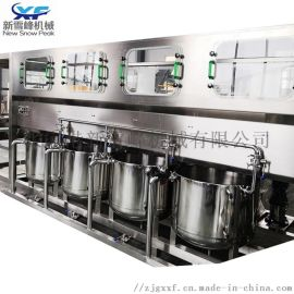 5加仑液体饮料灌装机 大桶矿泉水全自动灌装机生产线