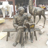 汕尾仿銅人物雕塑樹脂纖維玻璃鋼人物雕塑