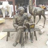 汕尾仿铜人物雕塑树脂纤维玻璃钢人物雕塑