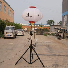 360度全方位照明三脚架手摇升降月球灯防炫目应急灯