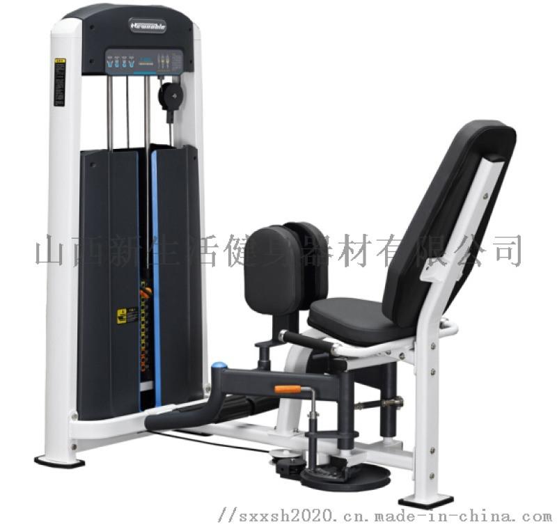 山西专项力量器械,康强1022大腿内外收训练器