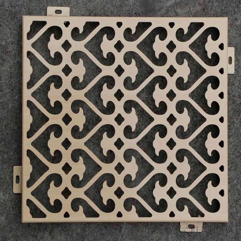 雕花镂空雕花板 镂空雕花铝板定做