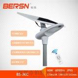 RGB尾燈設計360°可調節太陽能路燈