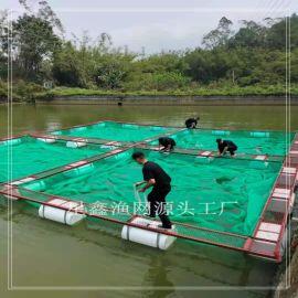 鱔魚養殖網箱 網箱養殖桂花魚 深水網箱養殖