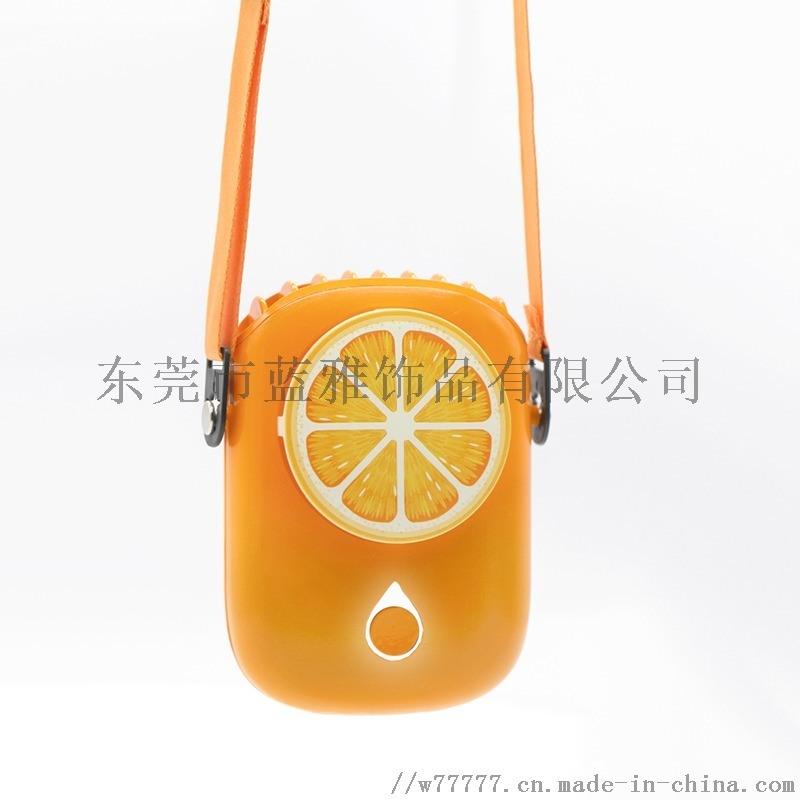 新品款USB迷你挂脖小风扇懒人运动手持风扇跨境定制