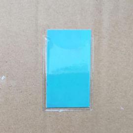 背胶PVC卡套标签卡套双面胶式
