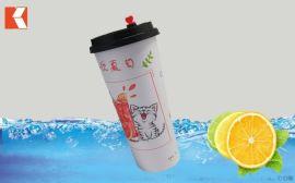 700ML塑料饮料杯网红奶茶杯冷饮杯
