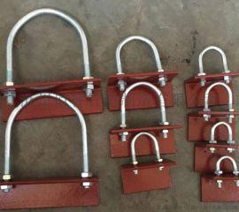 21629标准A5基准型双螺栓管夹 佰誉生产