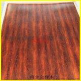 304仿木紋不鏽鋼板 轉印覆膜加紅木紋防火裝飾面板