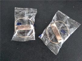 全自动皮带头钥匙金属扣包装机 枕式皮带扣套袋封口机