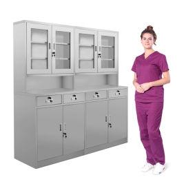 SKH055 不锈钢器械柜 文件柜 药品柜