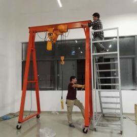 移动式龙门架,手推式龙门架,生产简易龙门架
