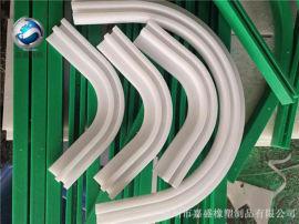 工业起重机专用导轨 防护用pe条 传动件塑料导轨