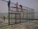 广东肇庆铁路护栏网圈山勾花网围栏体育场围网施工