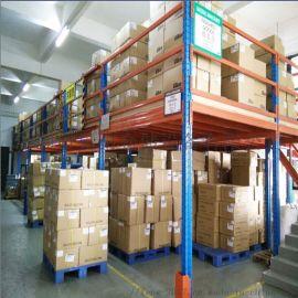 仓库定制货架钢平台 钢结构阁楼重型货架,阁楼式货架