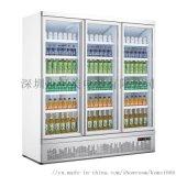 啤酒飲料玻璃門除霧展示冷藏冰櫃冰箱定製