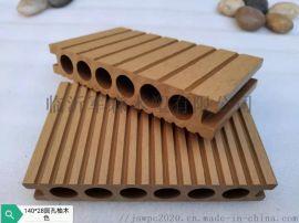 140*25圆孔户外环保木塑地板