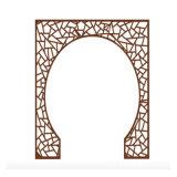 氟碳鋁窗花廠家直銷鏤空衝孔雕花雕刻鋁單板規格定製