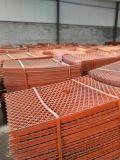 工地金属菱型网片 圈两边钢竹笆